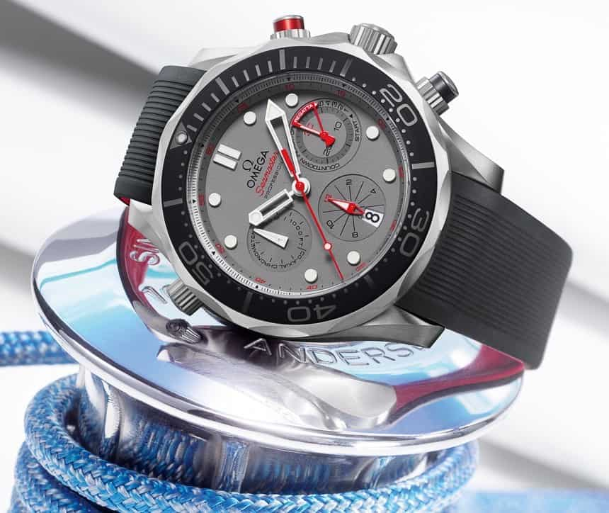 Omega Seamaster Diver 300M Co-Axial Chronograph ETNZ Watch ...