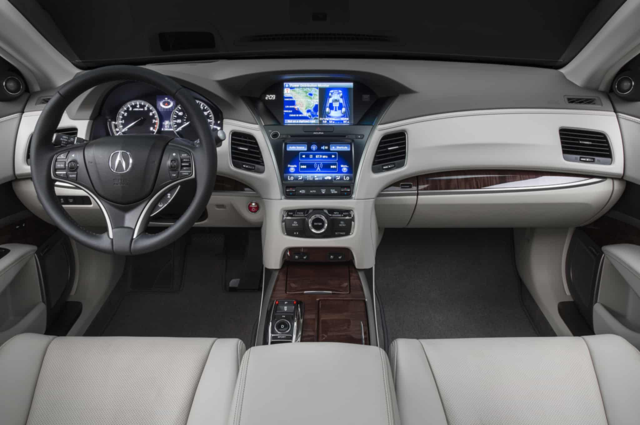 2015_Acura_RLX_Sport_Hybrid_Review_Interior