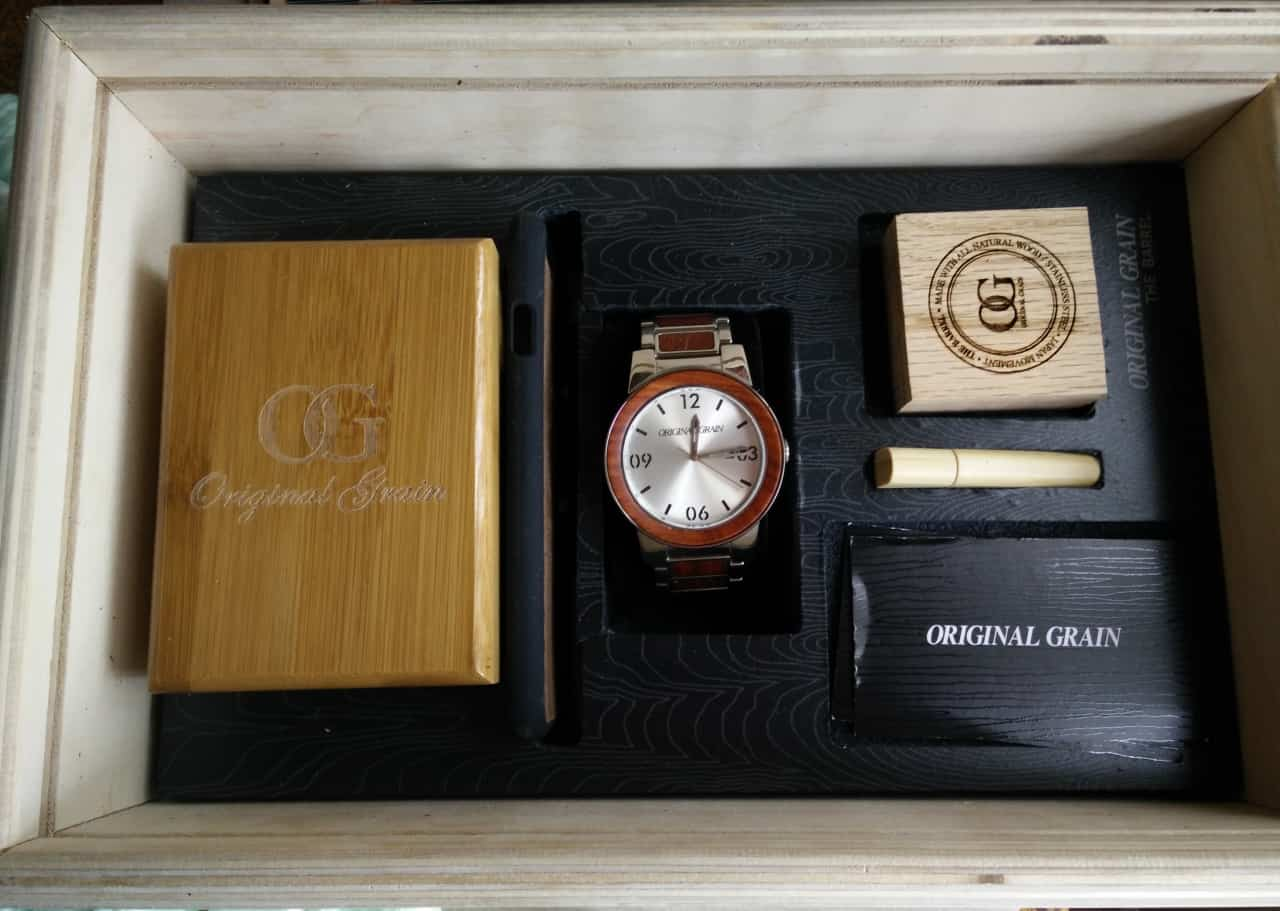 american and inspired pin barrel watches on the sale barrels now crafted oak features reclaimed from wood codes brushed pre whiskey watch dress