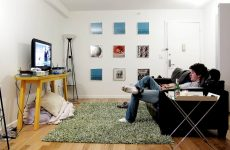 man in bachelor pad