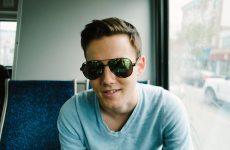 man wearing classy sunglasses