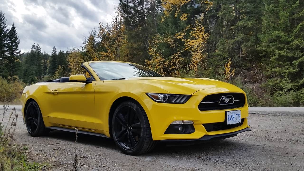 2015 ford mustang ecoboost convertible review unfinished man. Black Bedroom Furniture Sets. Home Design Ideas