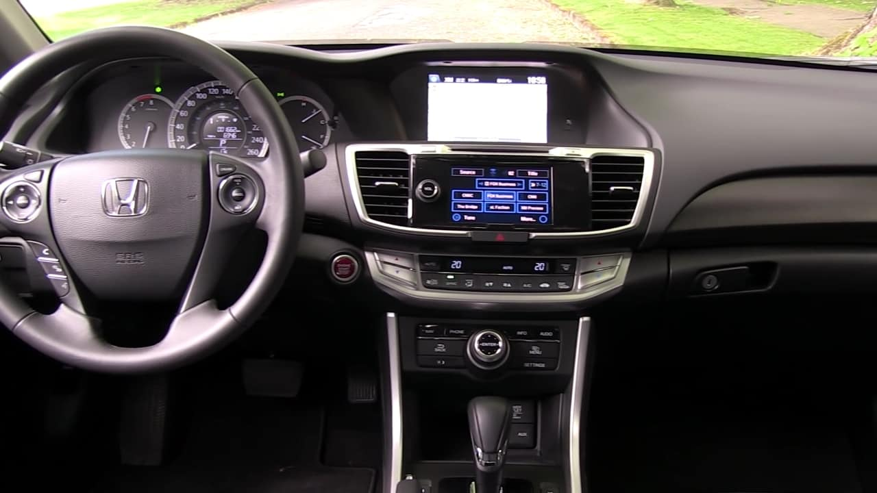 2015 Honda Accord Touring V6 Review Unfinished Man