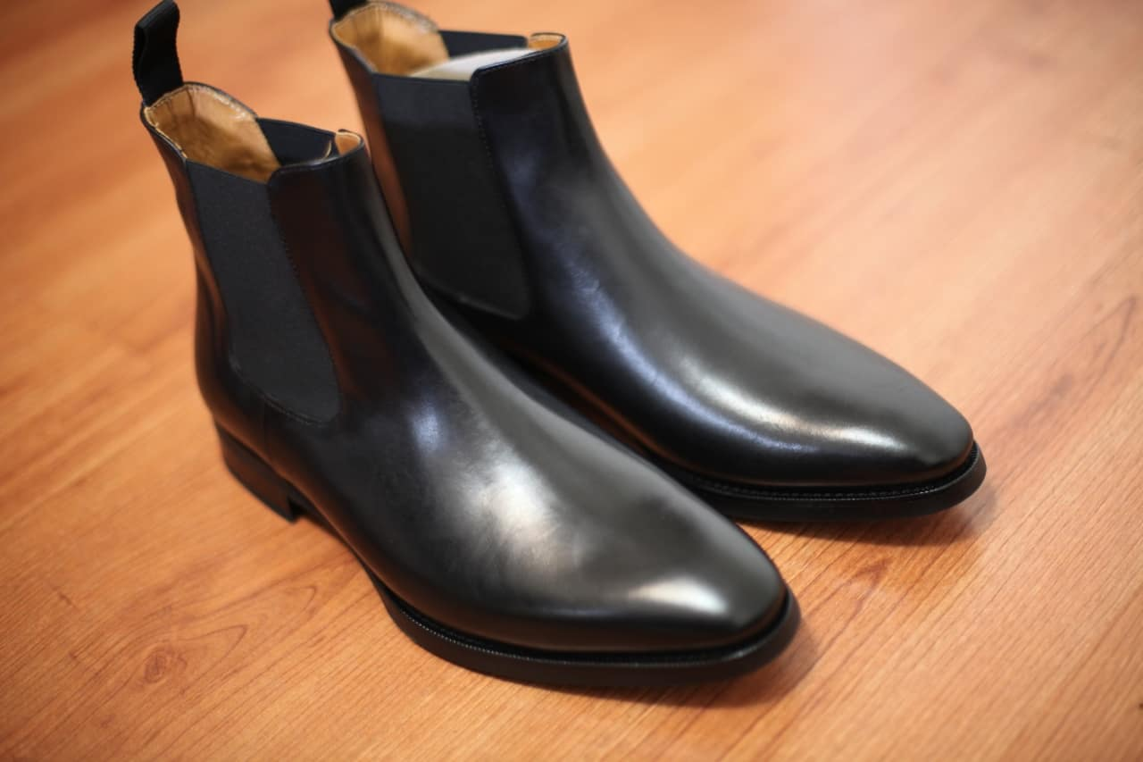 jack erwin chelsea boots review pair
