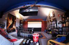 home theatre setup