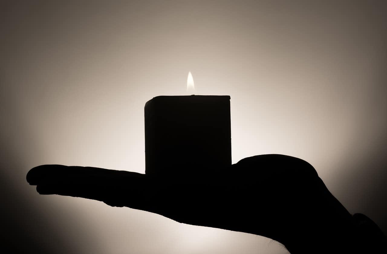little meditation candle