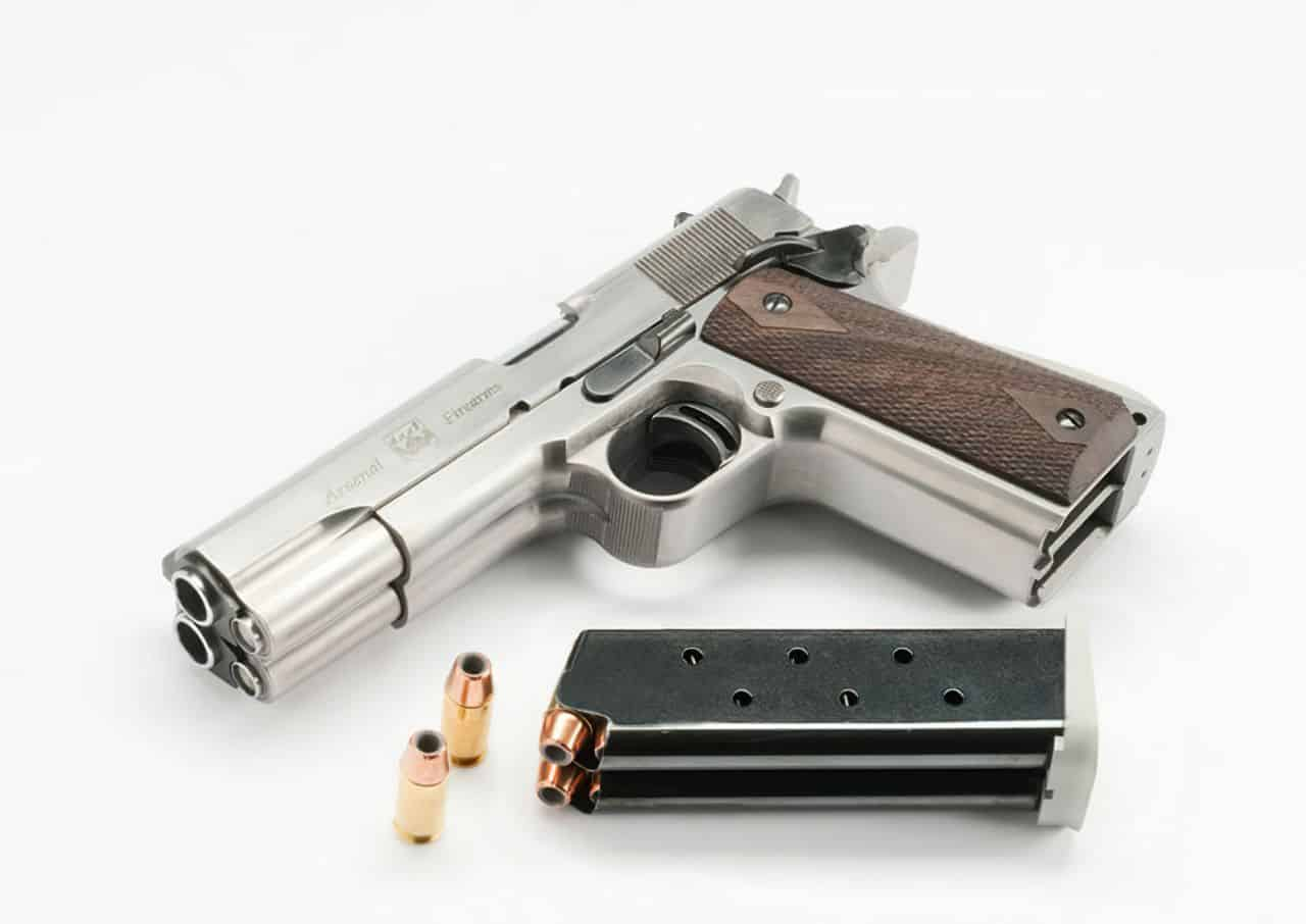 af2011 a1 double barrel pistol arsenal firearms