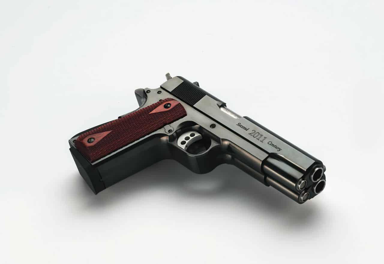 af2011 a1 double barrel pistol second century