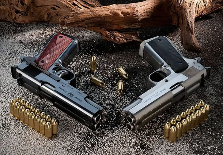 af2011 a1 double barrel pistol two styles