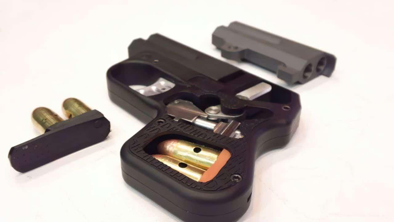 doubletap 45 heizer defense handgun