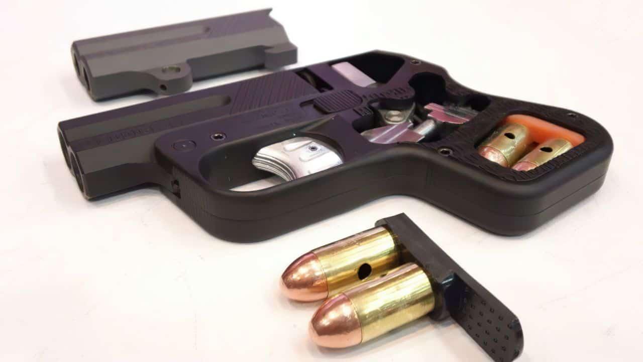 doubletap 45 heizer defense pistol
