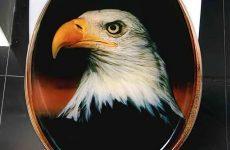 eagle toilet seat