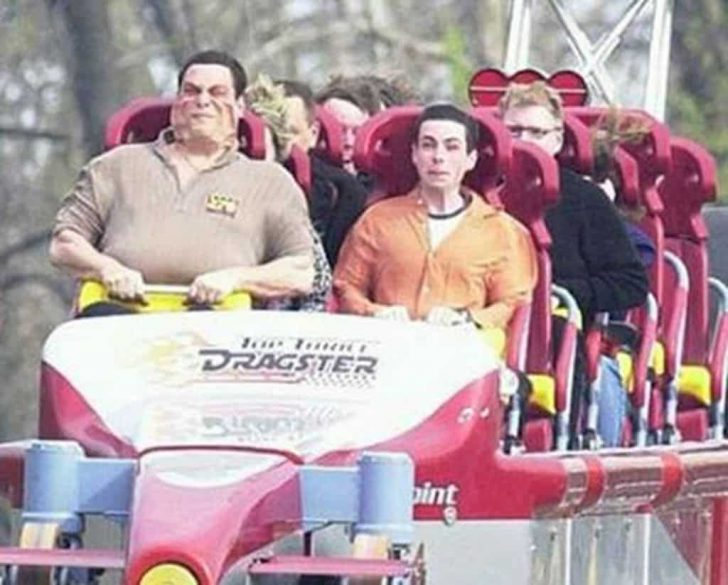 funny roller coaster faces again