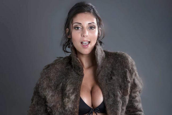 fur coat male chest hair upscaled