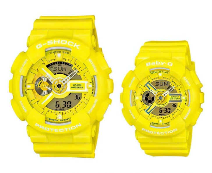 his and hers gshock watches