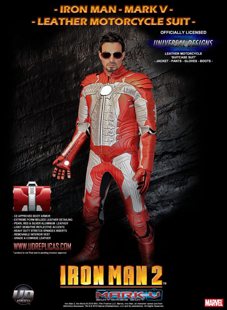 iron man motorcycle outfit