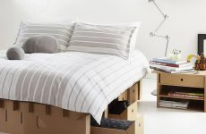 karton cardboard bed upscaled