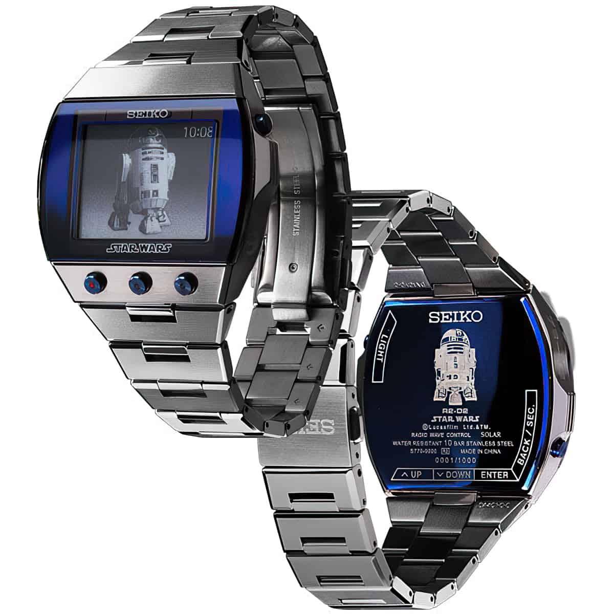 seiko R2 D2 watch