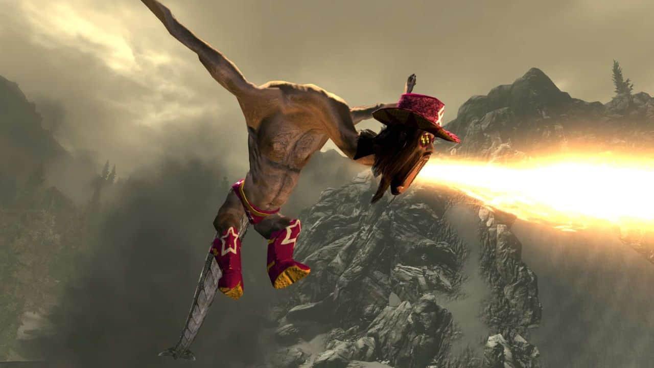skyrim macho dragon
