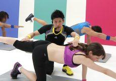stefanie joosten exercise pose enlarged