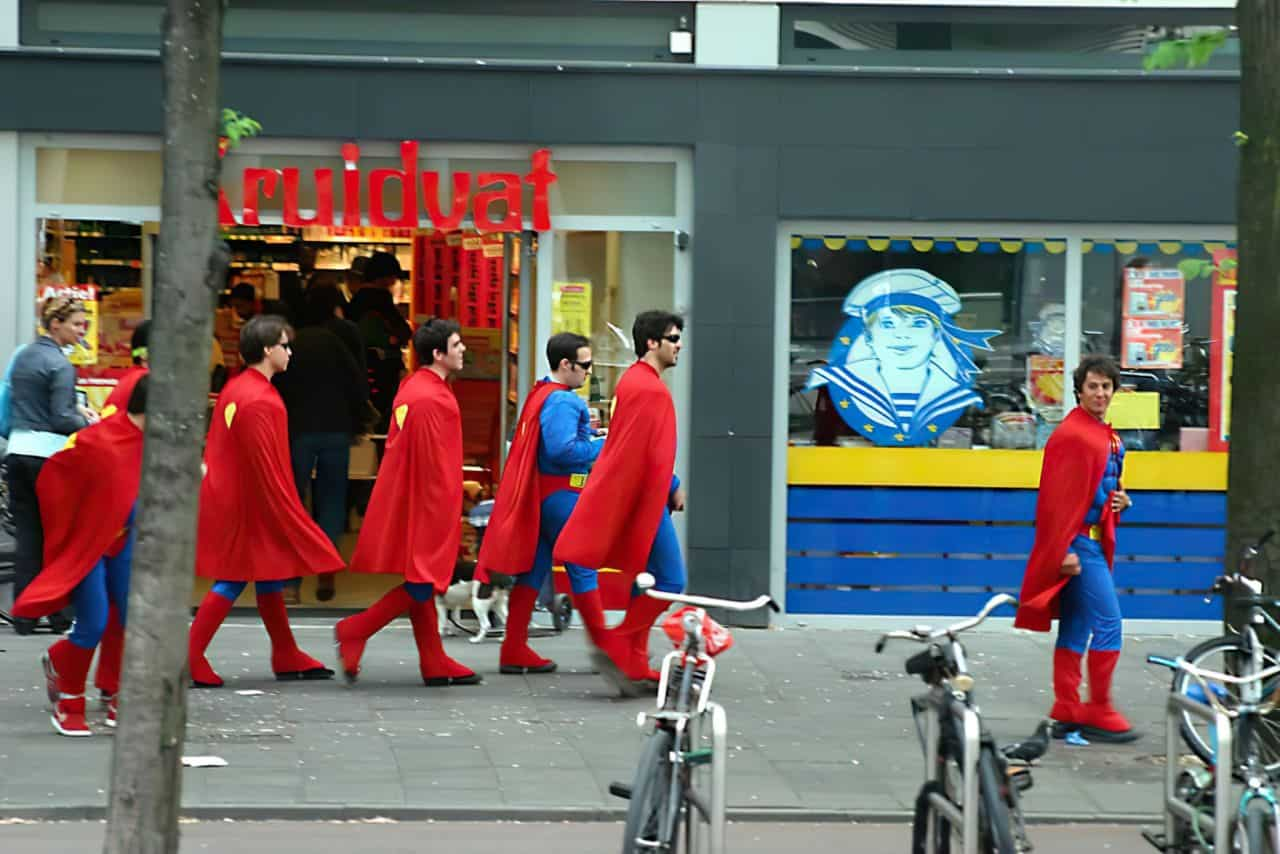 superman bachelor party costumes