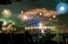 fireworks sydney harbor