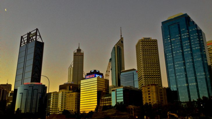 perth skyline buildings