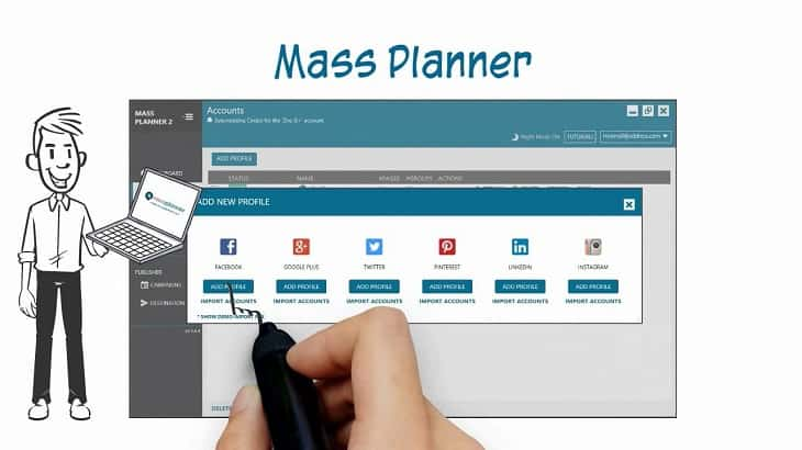 grow you business with massplanner on instagram