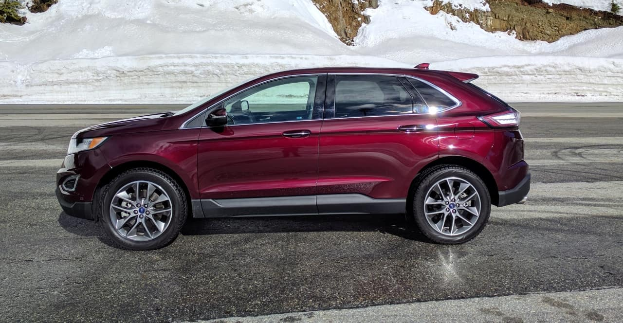 Ford Edge Titanium Review Photo Gallery