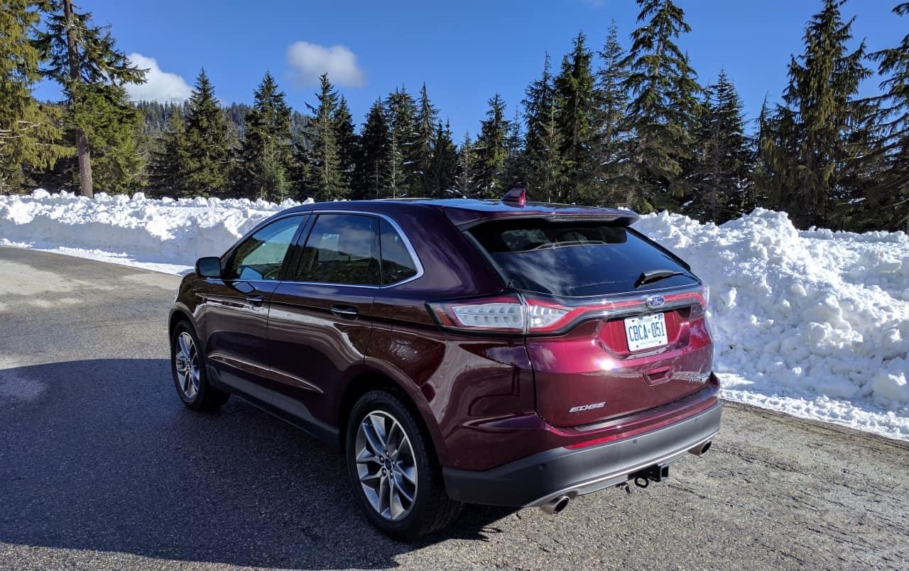 Ford Edge Titanium Review Photo Gallery