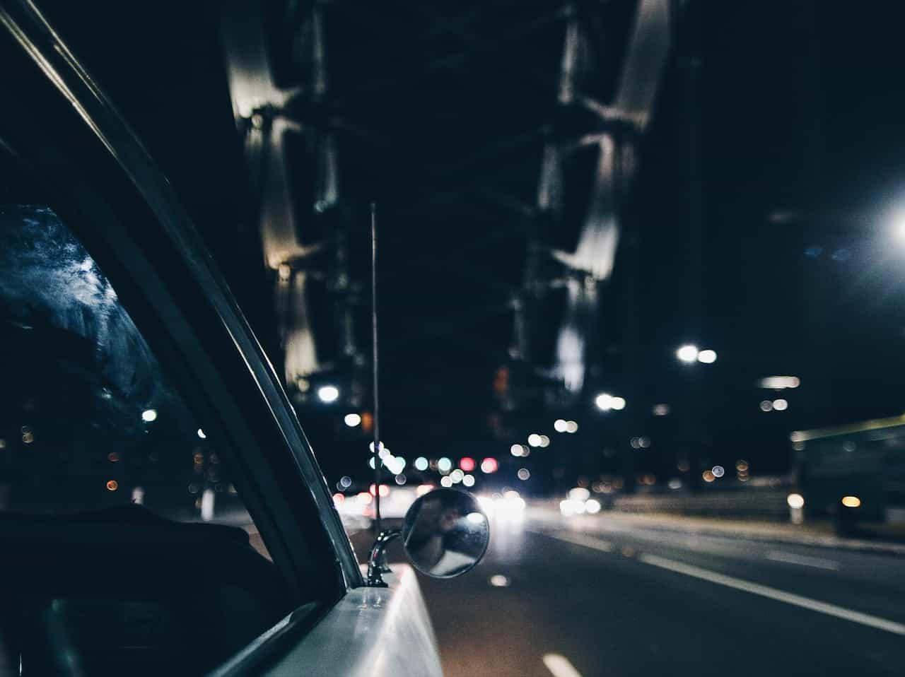 driving city