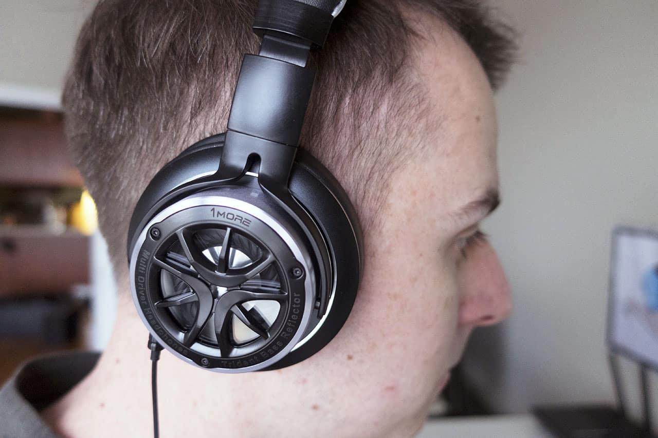 1more triple driver headphones 10