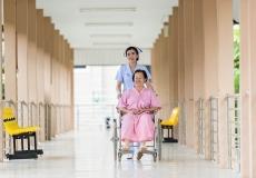 nursing home old people
