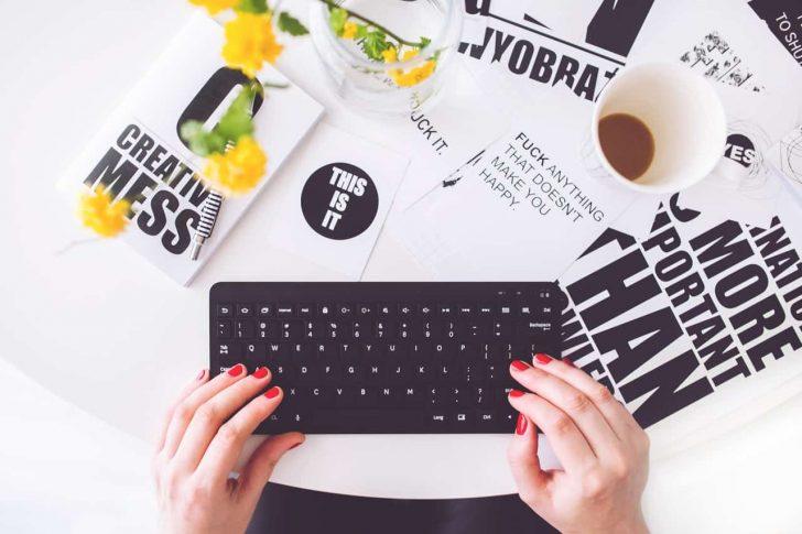 words keyboard power