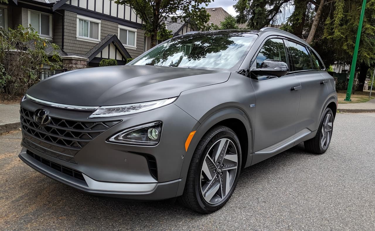The Future Of Propulsion 2019 Hyundai Nexo Fcev Review