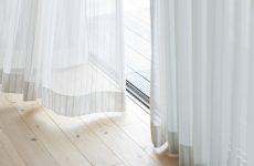 curtains near floor