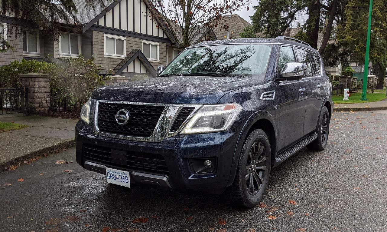 Old School Cool 2020 Nissan Armada Review Unfinished