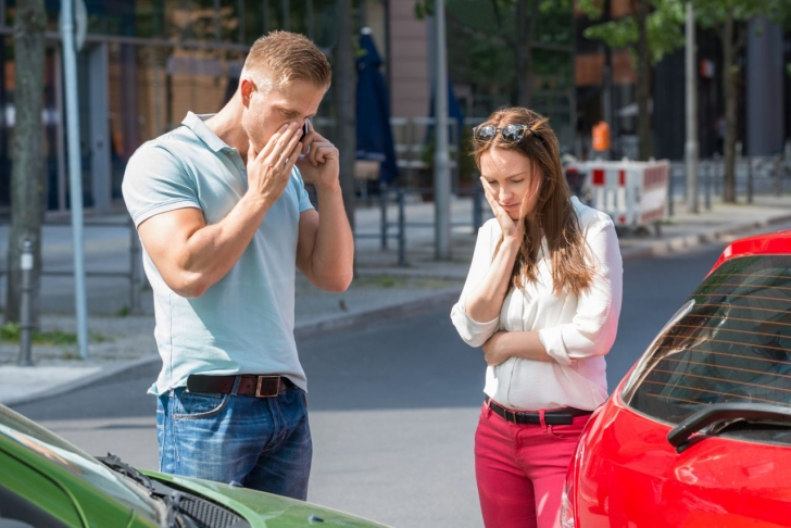 Collided Cars 6 Key Things to Do After a Car Accident
