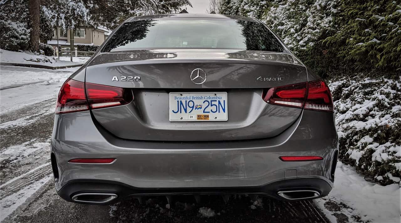 2020 Mercedes Benz A220 4MATIC 4