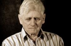 old man sad