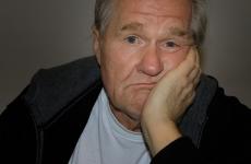 old man gray hair