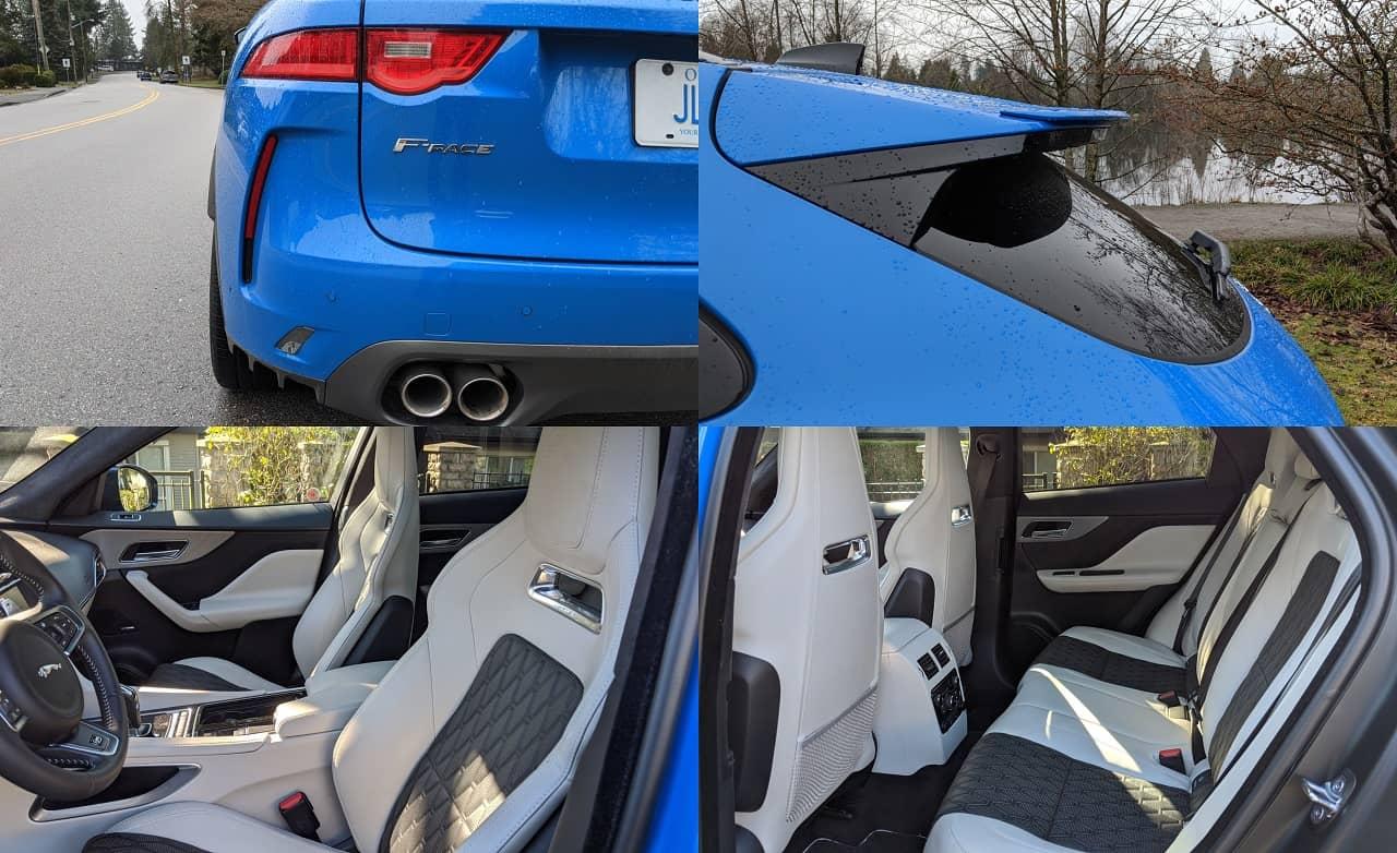2020 Jaguar F Pace SVR