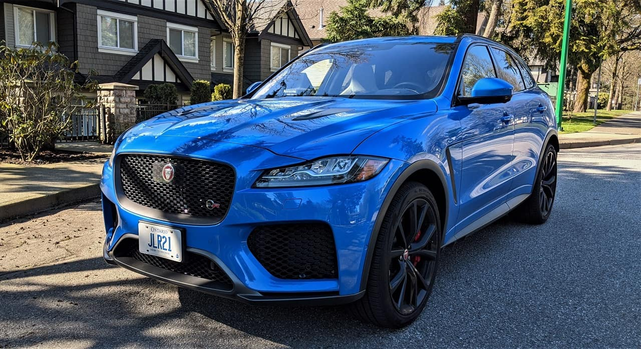2020 Jaguar F Pace SVR Review 1