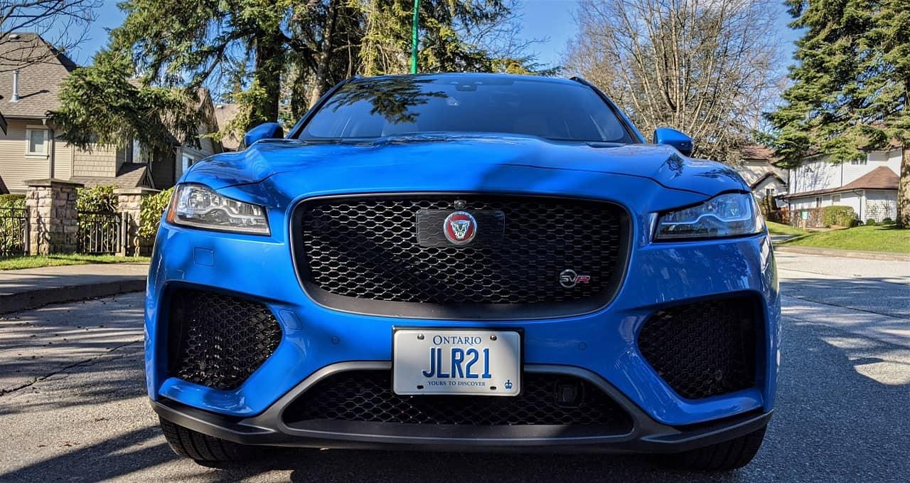 2020 Jaguar F Pace SVR Review 2