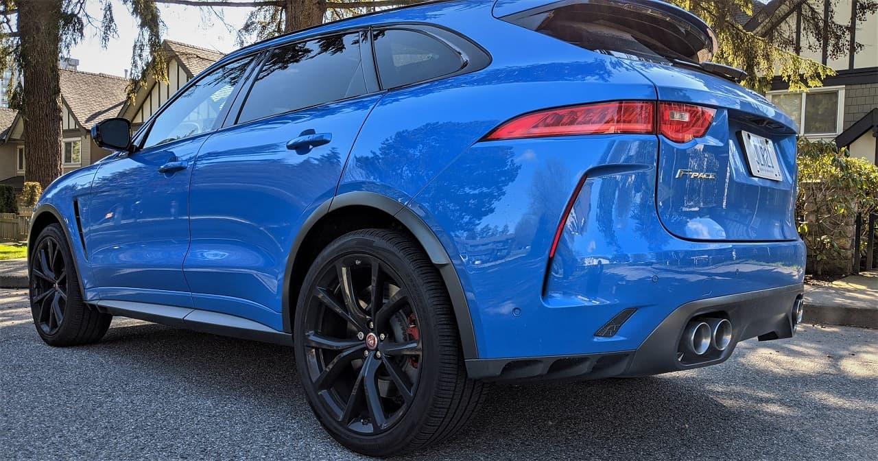 2020 Jaguar F Pace SVR Review 4