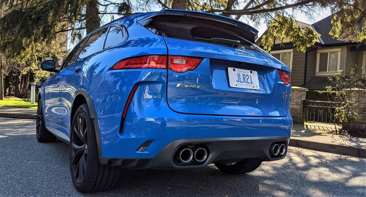 2020 Jaguar F Pace SVR Review 5