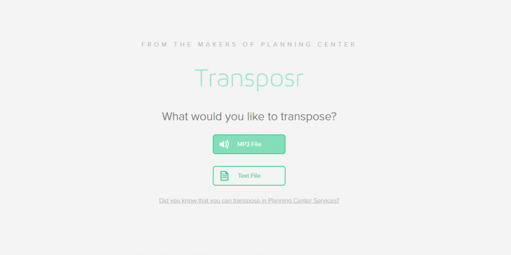 transpost splash screen