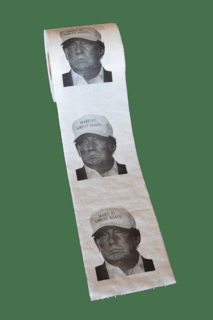 trump custom toilet paper