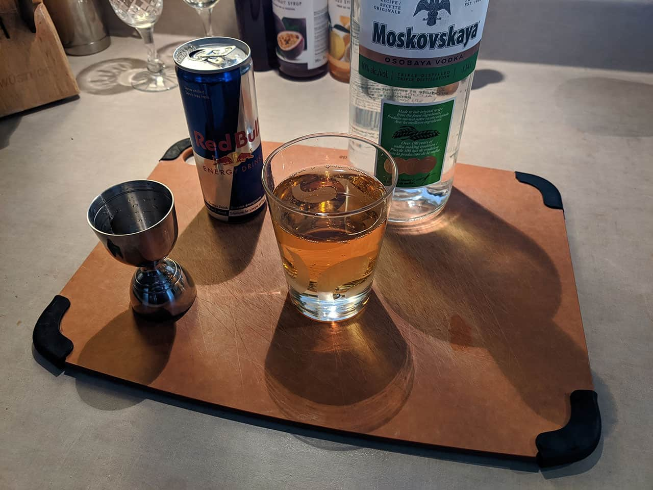 vodka redbull cocktail