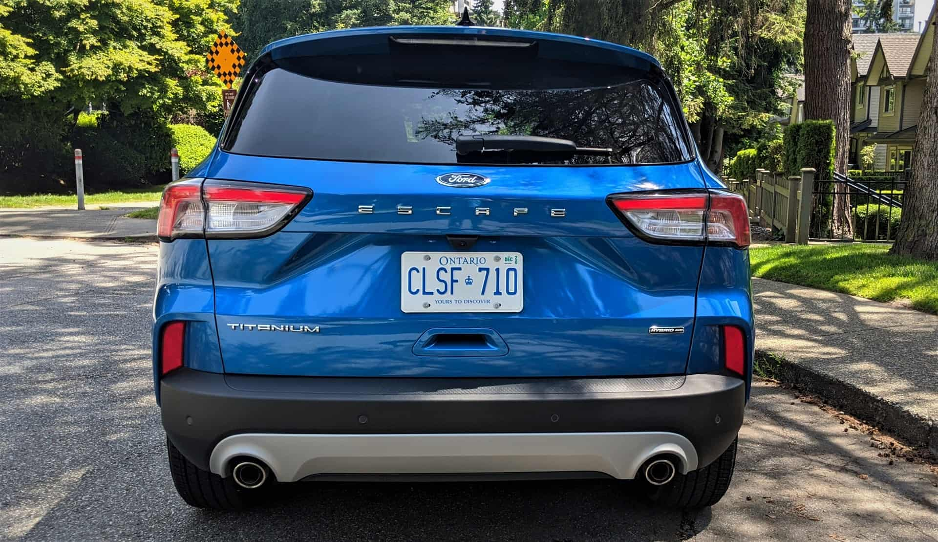 2020 Ford Escape Hybrid Review 5